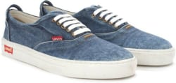 Levi s DENIM LACED Men Sneakers For Men (Navy)