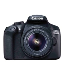 Canon 1300D with EF-S 18mm-55mm IS II Lens , Memory card and Bag