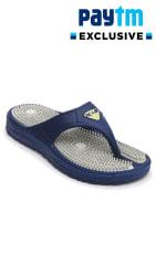 Nexa Accupressure Men s Grey Slippers