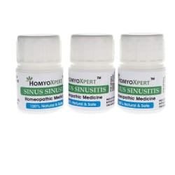 HomyoXpert Sinus Sinusitis Homeopathic Medicine For One Month