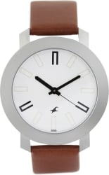Fastrack NG3120SL01C Bare Basic Watch - For Men