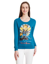 Status Quo Women s Printed T-Shirt (GFW-FL-309_Flamboyant_L)
