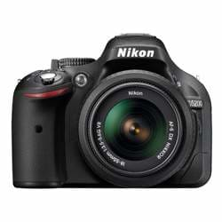 Nikon D5200 24.1 MP Digital SLR Camera (18-55 mm) (Black)