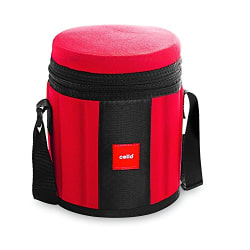 Cello Kingstone 4 Container Lunch Packs, Red