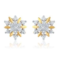 Mahi Shine Splash Earrings