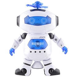 Tickles Dancing Robot with LED Light and Music, Multi Color