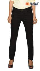DJ&C Black Slim Fit Women s Black Jeans
