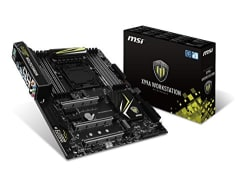 MSI X99A Workstation Intel Socket LGA2011 Extended ATX Motherboard