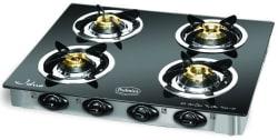 Padmini 4 Burner Gas stove - CS4GT CLOUD PLU, multicolor
