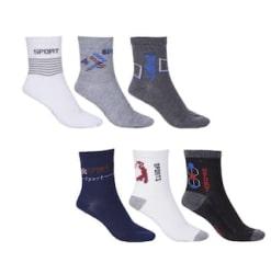 Royal Son Ankle Socks For Men (Pair of 6)