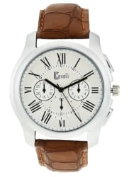 Cavalli India CW 358 Fosillo Exclusive White Dial Analog Watch - For Men