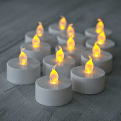 Skycandle Led Candles & T lites Yellow Buy6 Get6 Free