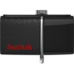 Sandisk 32 GB Ultra Dual Drive M3.0 Flash Drive (Black)
