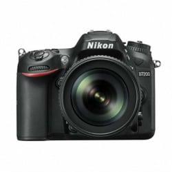 Nikon DSLR D7200 (AF-S 18-105mm) VR Kit (Black)