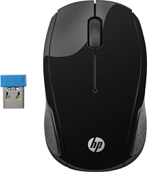 HP 200 Wireless Mouse ( BLACK )