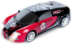 Saffire Remote Control Porsche Carrera Gt Graffiti Drift Car With Spare Tires, multicolor