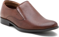 Red Tape Genuine Leather Slip On Shoes For Men (Tan)
