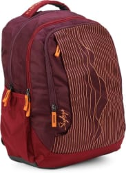 Skybags Backpack (Maroon, Purple)