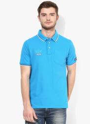 Mert Blue Polo T-Shirt