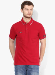 Mert Red Polo T-Shirt