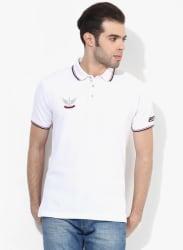 Mert White Polo T-Shirt