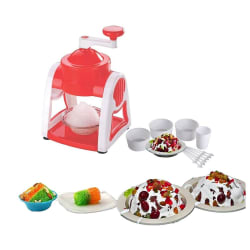 Crazy Sutra Manual Gola Maker With Slush Maker And Ice Crusher Made From Virgin Plastic (CS-SS-EXTRA-12), multicolor