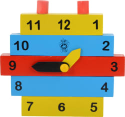 Skillofun Construction Clock  (Multicolor)