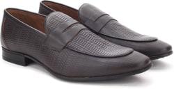 Arrow Slip on shoes For Men  (Brown)