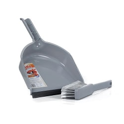Gala Dustgo Floor Brush Set with a Dustpan (Multicolor)