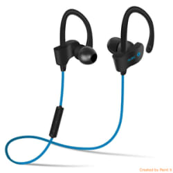 Details about BT 6 Sports Bluetooth Headset Wireless, Earphone with Mic