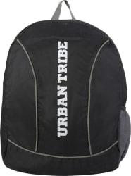 Urban Tribe Basic Anti Theft 25 L Laptop Backpack  (Black)