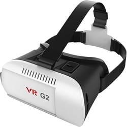 Tukzer 3D Virtual Reality Headset (White)