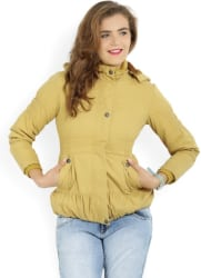 Fort Collins Full Sleeve Solid Women Jacket