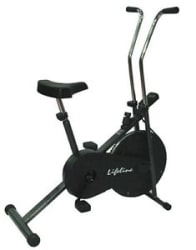 Details about Lifeline Branded 102 cycle home gym fitness cardio air bike electronic display