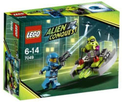 Lego Space Alien Striker 7049  (Multicolor)
