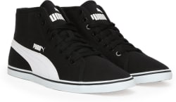 Puma Elsu v2 Mid CV IDP Mid Ankle Sneakers For Men (Black)