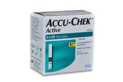Details about  Accu-Chek Active 100 Test Strips, 2*50 Strips - Exp Jan/2019