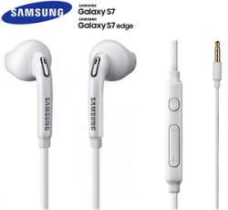 Details about  In Ear Stereo Earphones Handsfree for Samsung Galaxy S6 S7 Edge