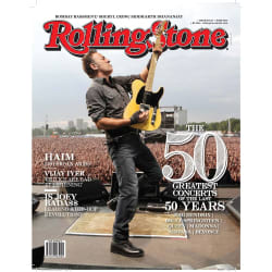 Rolling Stone India (English, 2 Year) + Get Assured Gift-Rolling Stone T-shirt & a Crocodile Gym bag worth 1899/-