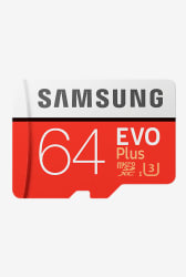 Samsung EVO Plus MB-MC64GA/IN 64 GB SDXC microSD Card