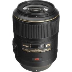 Nikon AF-S VR Micro-Nikkor 105mm f/2.8G IF-ED Lens, black