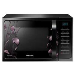 Samsung MC28H5025VL 28 Litre Convection Microwave Oven (Black)(Exclusive at Croma)