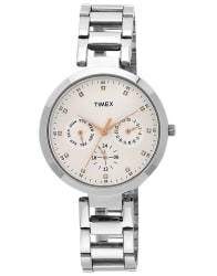 Timex Analog Silver Dial Women s Watch TW000X204
