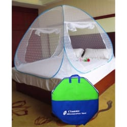 Classic Jacquard Double Bed Mosquito Net (CLJAQ-BL-DB)