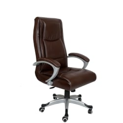 The Couch Cell High Back Executive Chair (TCC-180), mahogany