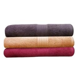 India Furnish Soft Premium Bath Towel (IFTW15038), multicolor