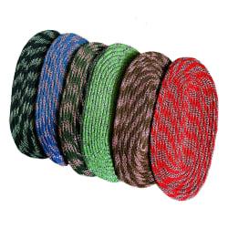 India Furnish Cotton Designer Oval Footmat (IFDM15002) Set of 6, multicolor