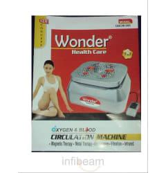 Wonder Brand 5 In 1 Oxygen & Blood (Power) Circulation Machine (Silver)