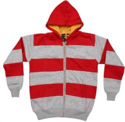 Shaun Full Sleeve Striped Boys Sweatshirt