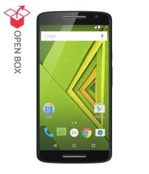 OPEN BOX Moto X Play (With Turbo Charger) 16 GB Black